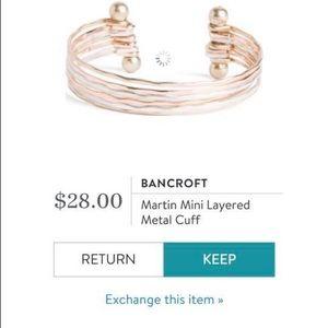 Bancroft Martin Mini Layered Cuff Bracelet